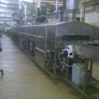 In Line cake tin washer