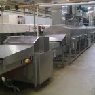 In line tin wash with re-verter